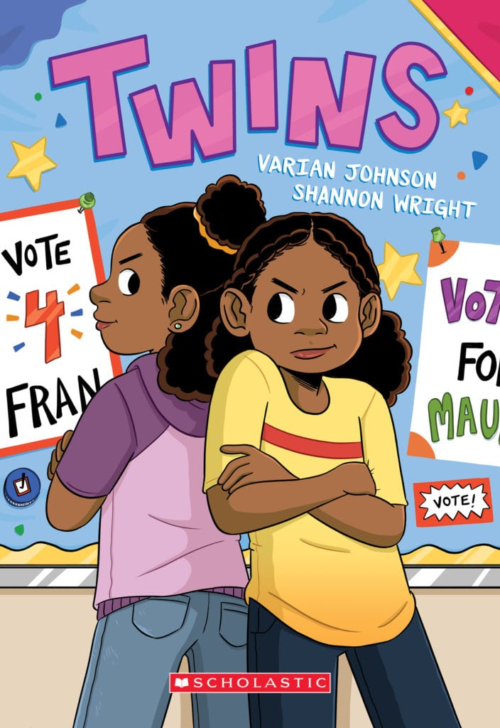 TWINS Graphic Novel Cover